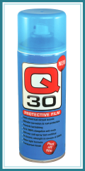 Q-30, film protecteur, isolant, anti-humidite, spray,
